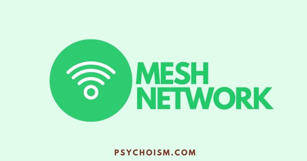 Mesh Network increases upload speed